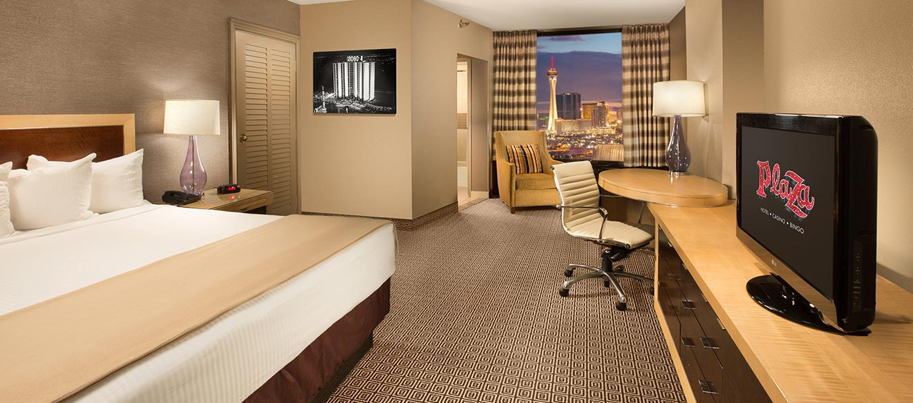 Deluxe View Rooms Downtown Las Vegas Plaza Hotel Casino
