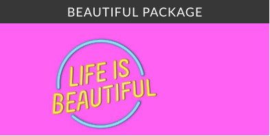 life is beautiful hotel package beautiful