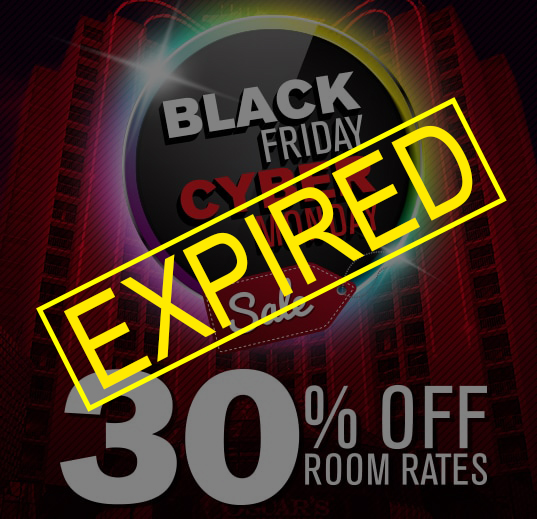 Black friday cyber monday plaza hotel casino for Rooms to go cyber monday