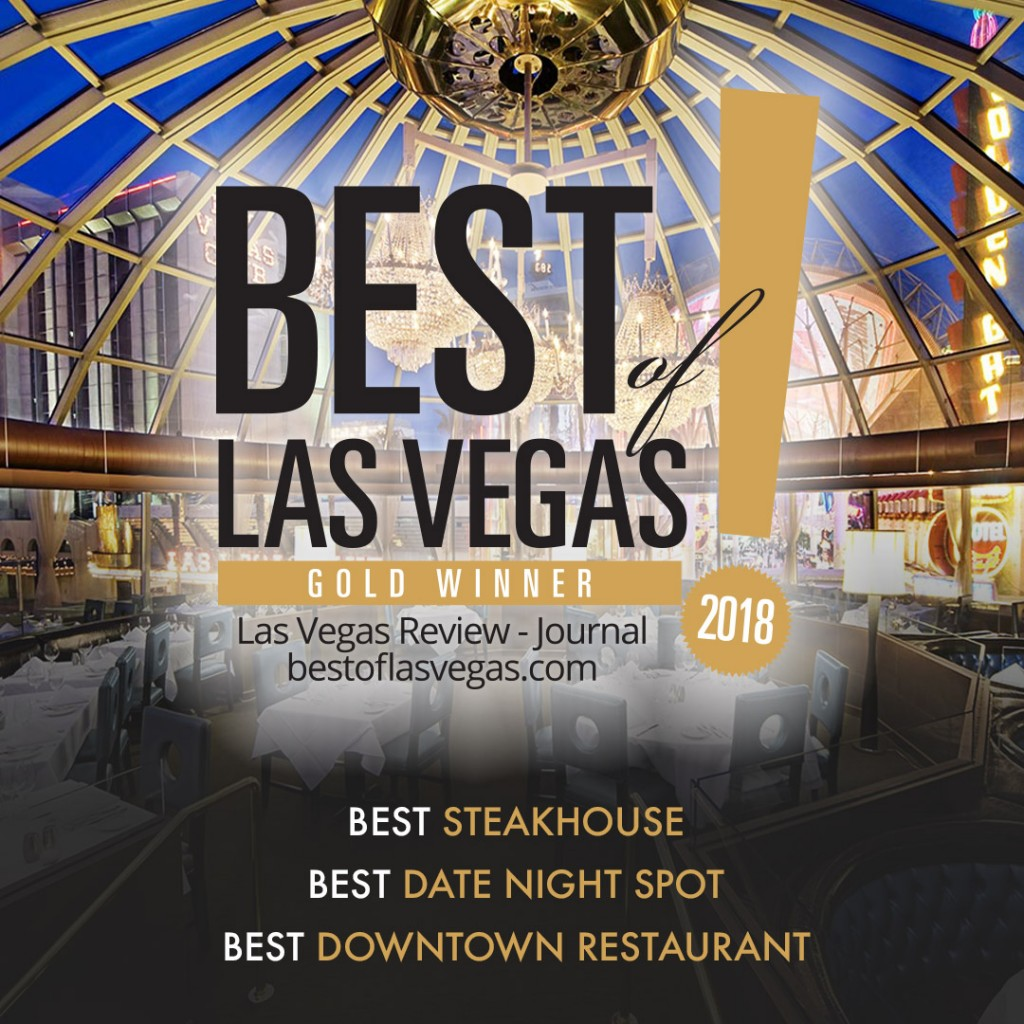 Best of Las Vegas Awards 2018 for Oscars Steakhouse