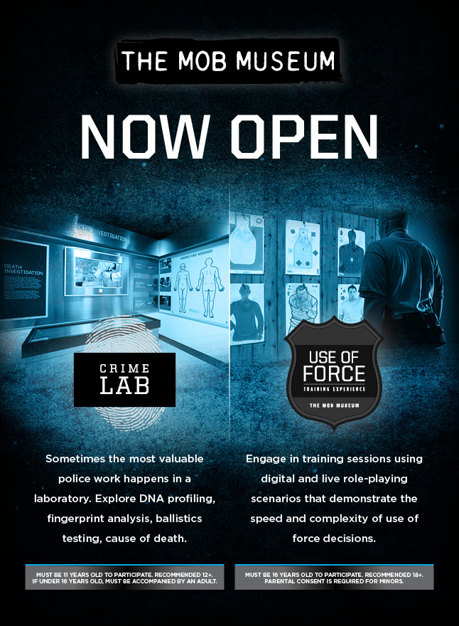 Crime Lab at the Mob Museum