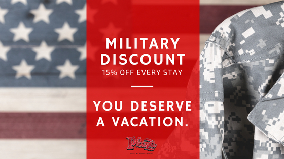 15% off hotel military discount