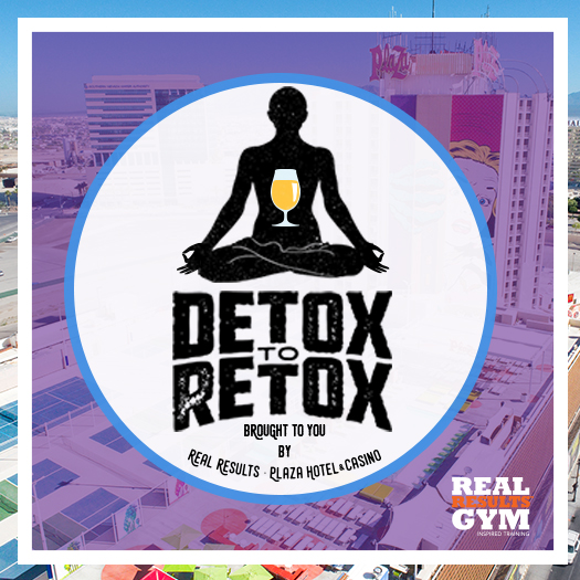 Detox to Retox downtown vegas pool