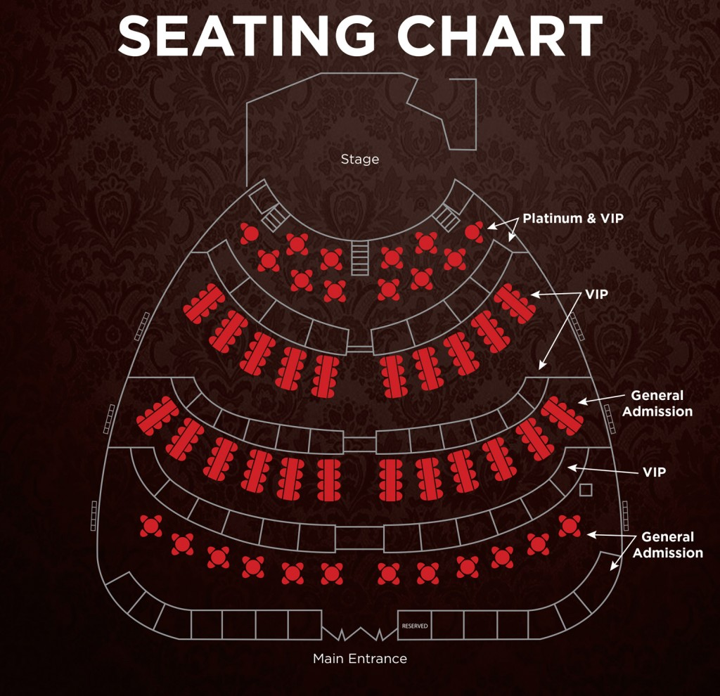 A Mob Story Las Vegas Seating Chart