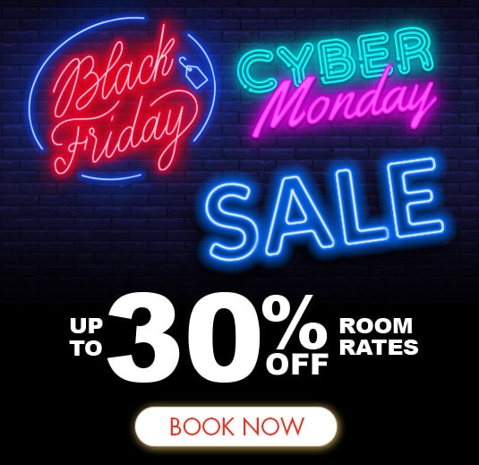Black Friday Cyber Monday Hotel Room Sale