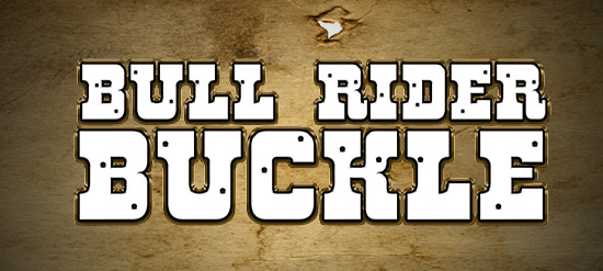 Bull Rider Buckle Slot Promotion