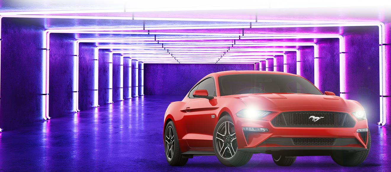 Play To Win A 2019 Ford Mustang - Plaza Hotel and Casino