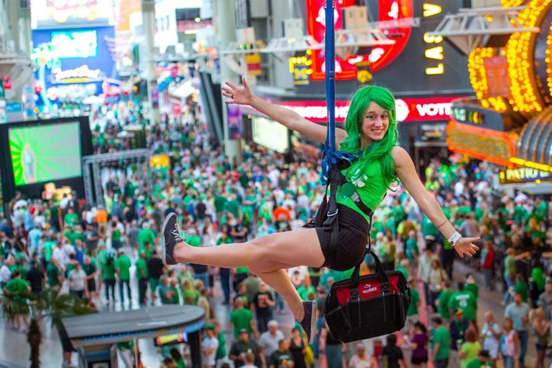 St patricks day downtown las vegas