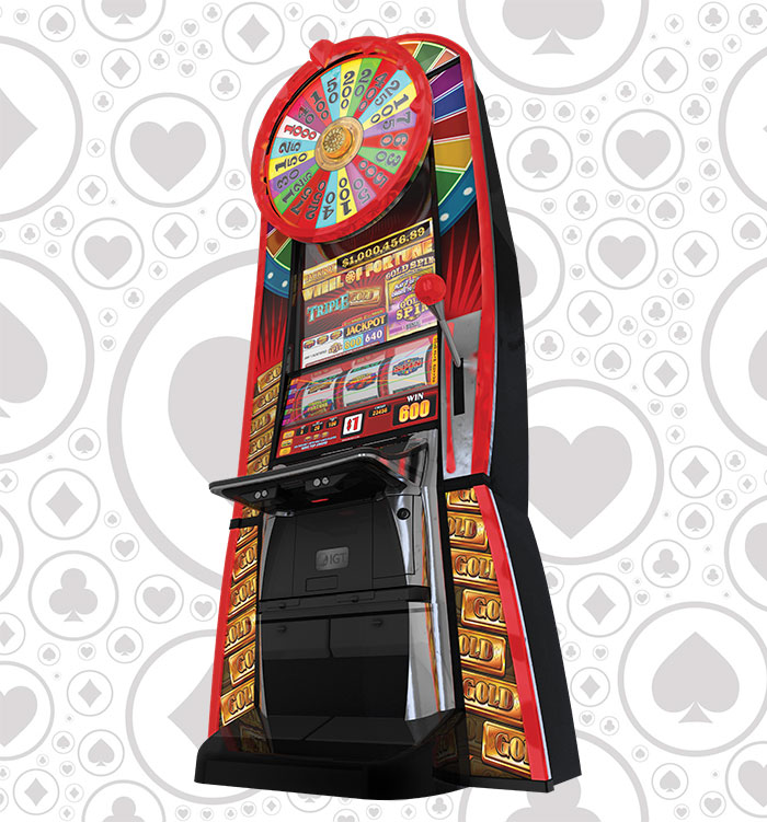Wheel of Fortune Triple Gold Spin Megatower